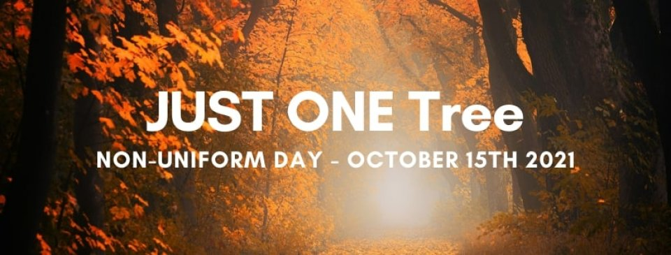 JUST ONE Tree Day launched for October 15th 2021