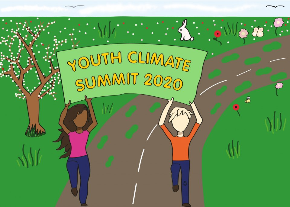 The new Youth Climate Summit logo
